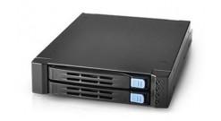 "Корпус для HDD HDD корзина 2x2,5"""" HDD SATAII/SAS HotSWAP в 1x3,5"""" (FDD) (SK51201H-01)"