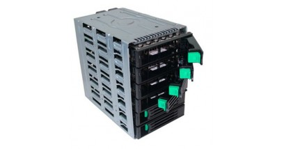 Корзина Intel AXX6DRV3GR (for SC5600/SC5650) 6-drive hot-swap non-expanded, SATA/SAS backplane assembly cage kit