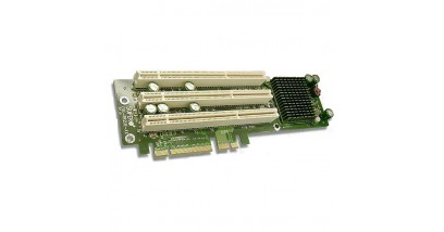 Карта расширения Supermicro CSE-RR2UE-AX - Riser Card 2U, (Active 3 PCI-X 133/100/66 MHz), Left Slot (PCI-E x8)