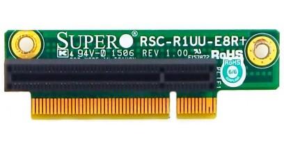 Карта расширения Supermicro RSC-R1UU-E8R+ Riser Card 1U, (1 PCI-E x4/8), Right Slot (UIO)