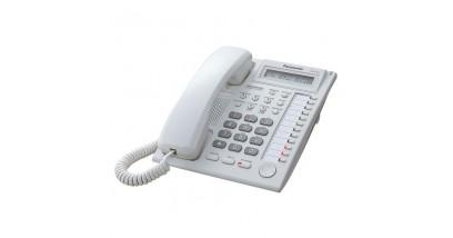 Системный телефон Panasonic KX-T7730RU с дисплеем и спикерфоном (12 кнопок)