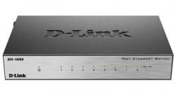 Коммутатор D-Link DES-1008D, Desktop Switches, 8x10/100Mbps UTP..