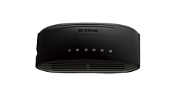 Коммутатор D-Link DES-1005D Неуправляемый с 5 портами 10/100 Мбит/с..