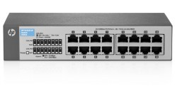 Коммутатор HP 1410-16 Switch J9662A ( Unmanaged, 16*10/100, QoS)..