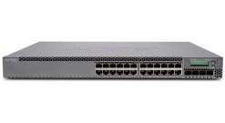 Коммутатор Juniper EX 3300, 24-port 10/100/1000BaseT with 4 SFP+ 1/10G uplink po..