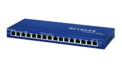 Коммутатор NETGEAR FS116GE 16-портовый 10/100 Мбит/с коммутатор с внешним блоком..