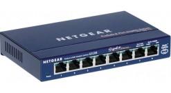 Коммутатор NETGEAR GS108GE 8-портовый 10/100/1000 Мбит/с коммутатор с внешним бл..