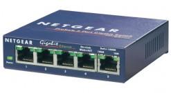 Коммутатор NETGEAR GS105GE 5-портовый 10/100/1000 Мбит/с коммутатор с внешним бл..