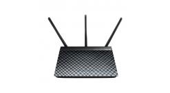 Маршрутизатор Asus ADSL DSL-N55U 802.11n 300Mbps dual-band GigaLan USB Printer..