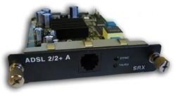 Трансивер Juniper SRX-MP-1ADSL2-A 1-Port ADSL2+ Mini-PIM supporting ADSL/ADSL2/A..