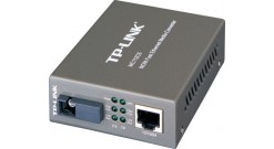 Медиаконвертер TP-Link MC112CS 10/100 Мбит/с RJ45 - 100 Мбит/с разъём SC (одномо..