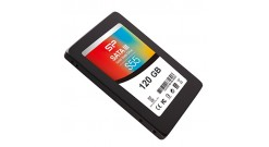 "Накопитель SSD Silicon 2.5"""" 120GB Power Slim S55 Client SSD SP120GBSS3S55S25 SATA 6Gb/s, 550/420, IOPS 78K, MTBF 1.5M, TLC, Retail"