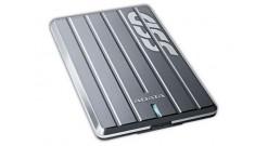 "Накопитель SSD A-Data 2.5"""" 256GB SC660H External SSD ASC660H-256GU3-CTI USB 3.1, 440/430, MTBF ?M, 3D NAND TLC, Titanium, Retail"