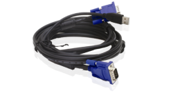 2 in 1 USB KVM Cable in 5m (15ft)..