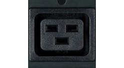 3-фазный (400В) контролируемый БРП, 11кВА, 16A на фазу, вход IEC-309 красный 16A..