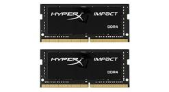 32GB Kingston DDR4 2400 SO DIMM HyperX Impact Black HX424S14IBK2/32 Non-ECC, CL1..