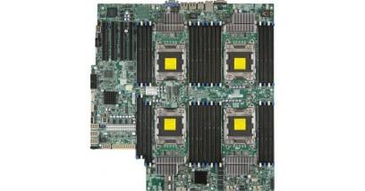Материнская плата Supermicro MBD-X9QRI-F+-B Intel S2011 Quad SKT, Intel C602 Chipset, SATA, IPMI