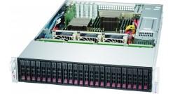 "Корпус Supermicro CSE-216BE1C4-R1K23LPB - 2U, 2x1200W, 24x2.5"""" bays, Single SAS3 (12Gbps) expander, LP"