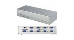 8 Port VIDEO SPLITTER W/230V ADP...