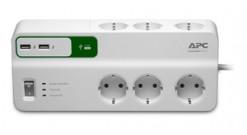 Сетевой фильтр APC Essential SurgeArrest 6 outlets 230V Russia..