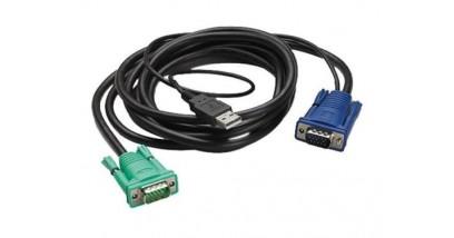 APC INTEGRATED LCD KVM USB CABLE - 12 ft (3m)