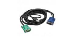 APC INTEGRATED LCD KVM USB CABLE - 6 FT (1.8m)..