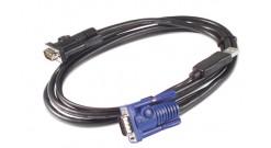 APC KVM USB Cable - 12 ft (3.6 m)