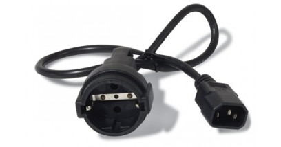 APC Power Cord [IEC 320 C14 to CEE 7/7(Schuko) Receptacle] - 10 AMP/230V 0.61 Meters