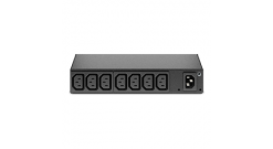 APC RACK PDU, BASIC, 0U/1U, 120-240V/15A, 220-240V/10A, (8) C13..