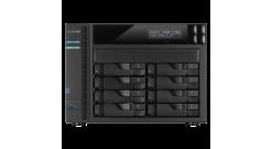 Дисковое хранилище ASUSTOR 8-Bay NAS/Media player XBMC,4k video/3.5GHz DC CPU/2G..