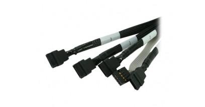 Adaptec ACK-INT-mSAS*4-to-4SATA-SB-0.5M (2247000) Кабель SAS внутр.,50см.,разъемы SFF8087 -to- 4*SATA +SideBand(SFF8448)