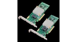 Контроллер Adaptec ASR-8805E V2 Single (Cache 512Mb, RAID 0/1/1E/10, кабели отдельно)