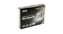 Сетевой адаптер Asus USB-N10 NANO USB-N10 NANO USB2.0 802.11n 150Mbps nano size..