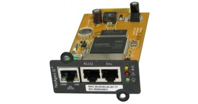 Адаптер Powercom SNMP для ИБП NetAgent II(BT506) внутренний 3порта