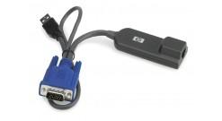 Адаптер для поключения консольного переключателя к серверу HP KVM Console USB Vi..