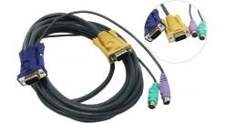 Кабель D-Link DKVM-IPCB5 для DKVM-IP1/IP8 длина 5m..