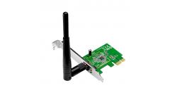 Сетевой адаптер Asus PCE-N10 PCI-E, 802.11n draft 2.0, 150 Мбит/сек..