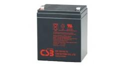 Аккумулятор CSB 12V/5Ah HR1221WF2..