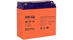 Батарея Delta DTM 1217 Battary replacement APC RBC7,RBC55,RBC11 12В, 18аЧ, 181мм..
