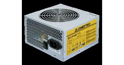 Блок питания Chieftec GPA-350S <350W, v.2.3/EPS, APFC, Fan 12 cm, Oem> 20+4+(4+4), 6pin*1, sata*6