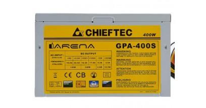 Блок питания Chieftec GPA-400S 400W ATX (24+4+6/8пин)