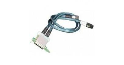 Кабель Supermicro CBL-0168L-LP Backplane Cable (Internal) SAS Dual Рort Assembly (SFF-8087 to SFF-8088 x2) 68/76cm