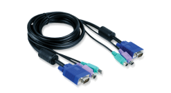 Cable Kit for DKVM Products, PS/2 keyboard cable, PS/2 mouse cable, Monitor cabl..