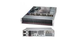 "Корпус Supermicro CSE-216BE1C-R920WB - 2U, 2x920W, 24x2.5""""HDD, Single SAS3 (12Gbps) expanders, WIO"