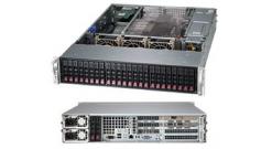 "Корпус Supermicro CSE-216BE2C-R920WB - 2U, 2x920W, 24x2.5""""HDD, Dual SAS3 (12Gbps) expanders, WIO"