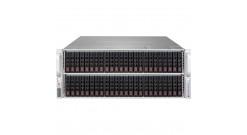 "Корпус Supermicro CSE-417BE1C-R1K28WB - 4U, 2x1280W, 72x2.5""""HDD, single SAS3 (12Gbps) expander, WIO"
