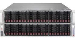 "Корпус Supermicro CSE-417BE2C-R1K28WB — 4U, 2x1280W, 72x2.5""""HDD, dual SAS3 (12Gbps) expanders, WIO"
