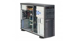 Case Supermicro CSE-743I-665B (Black) 4U, Rack, 2x4-Fix, 2x 5.25
