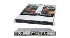 "Case Supermicro CSE-808T-780B (Black) 1U, Rack, 2*3.5""""SAS/SATA (hsw), 780W"