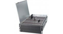 "Корпус Supermicro CSE-946ED-R2KJBOD - 4U, 4x1000W, 90x3.5"""" or 2.5"""" HDD SAS/SATA, Dual expanders, RMKit"